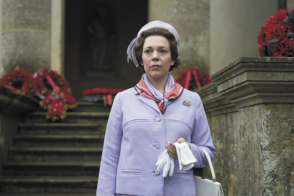 Olivia Colman is the new Elizabeth.
