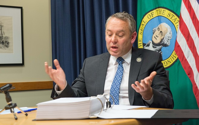Mayor David Condon is not a fan of the last-minute budget changes — which include a big staffing boost for the City Council. - DANIEL WALTERS PHOTO