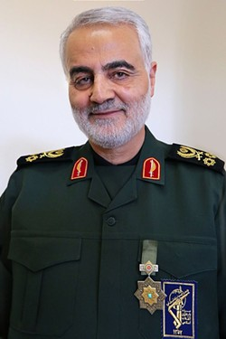 Maj. Gen. Qassim Suleimani was killed by a U.S. drone strike yesterday - CREATIVE COMMONS