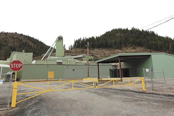 Lucky Friday mine is located a mile east of Mullan, Idaho. - YOUNG KWAK PHOTO