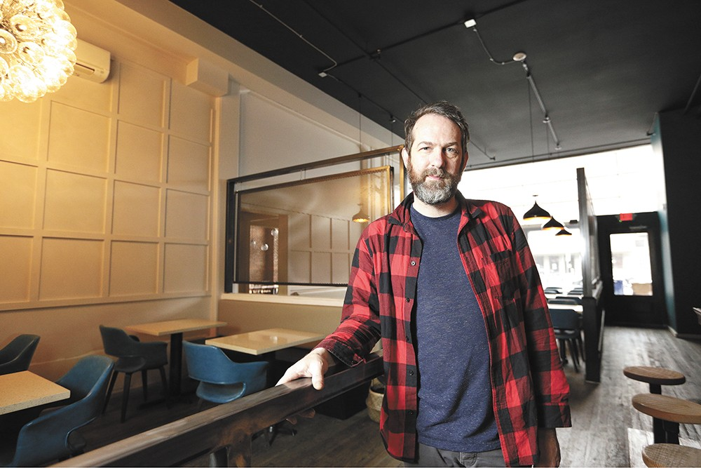 Chef Tony Brown now owns and operates four local restaurants. - YOUNG KWAK PHOTO