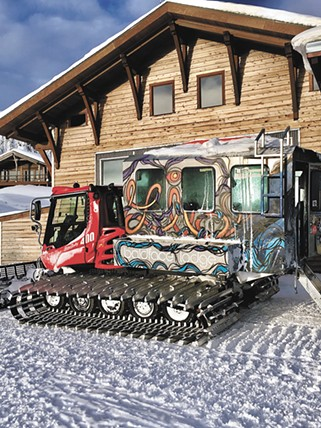 Baldface Lodge is located near Nelson, B.C. - JOHN GROLLMUS PHOTO