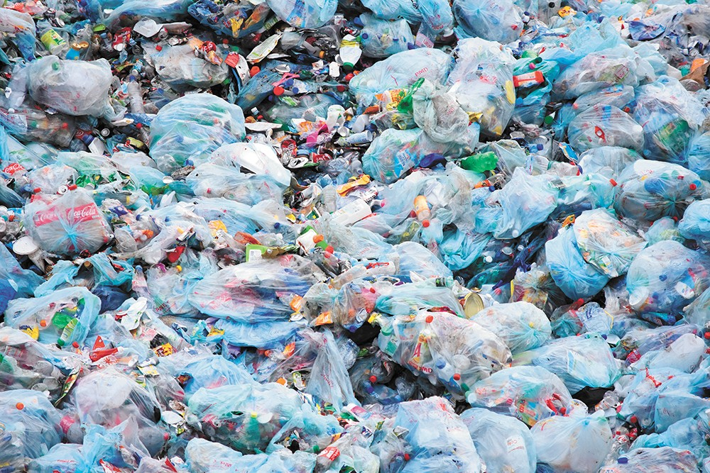 """""""We've reached crisis-level proportions of plastic pollution,"""" says a lawmaker hoping to ban single-use plastic bags in Washington."""