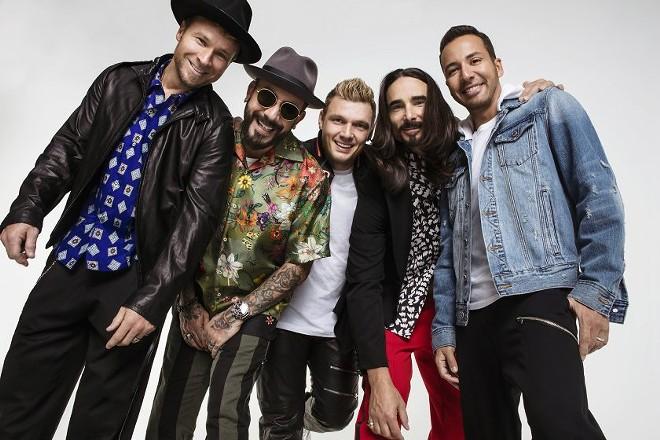 The Backstreet Boys are set to hit the Spokane Arena on Aug. 7. - DENNIS LEUPOLD