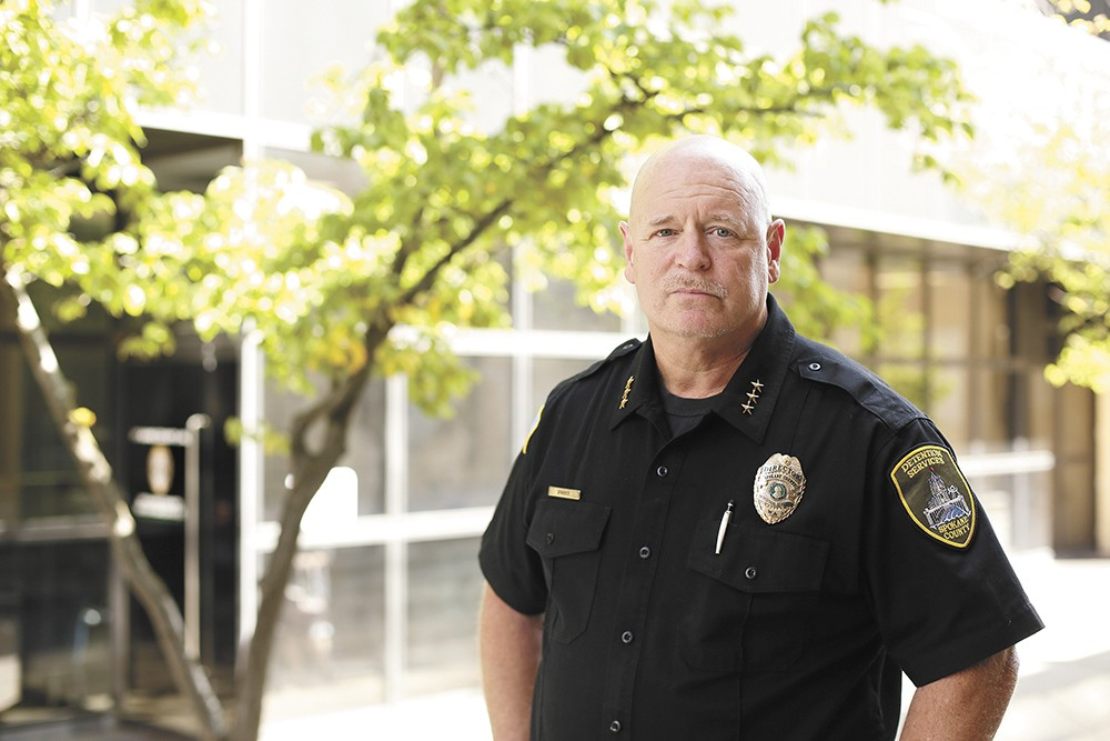 Mike Sparber, director of Spokane County Detention Services, supports hiring jail guards as young as 18. - YOUNG KWAK PHOTO