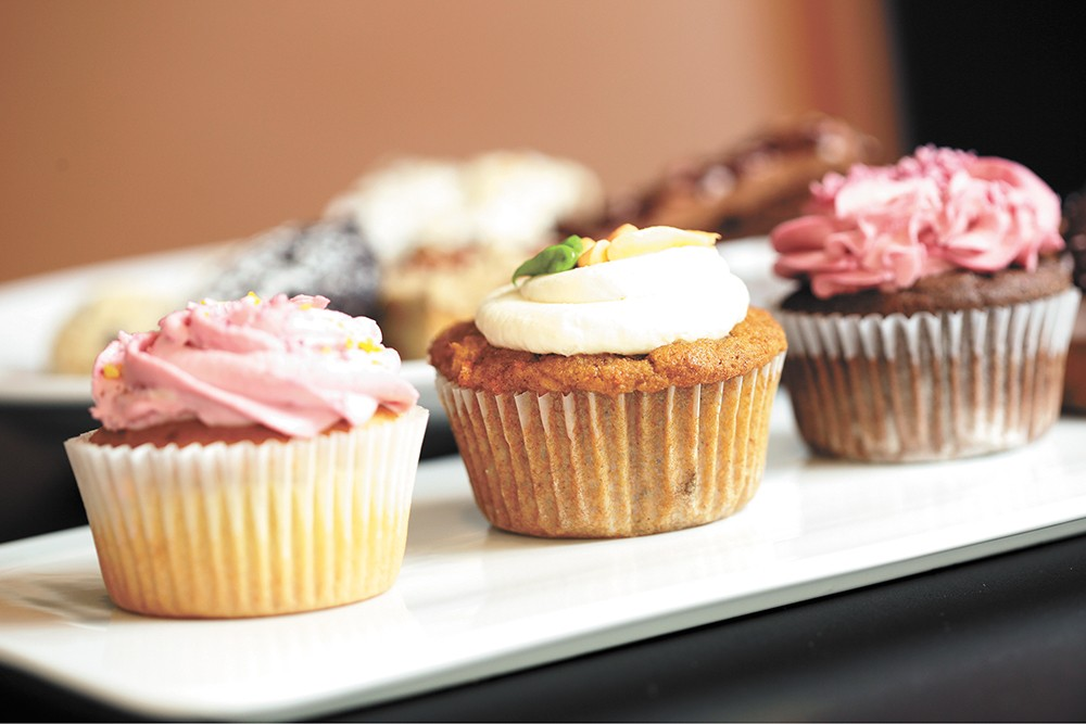 Cole's Bakery offers many keto-friendly baked goods like these cupcakes. - YOUNG KWAK PHOTO