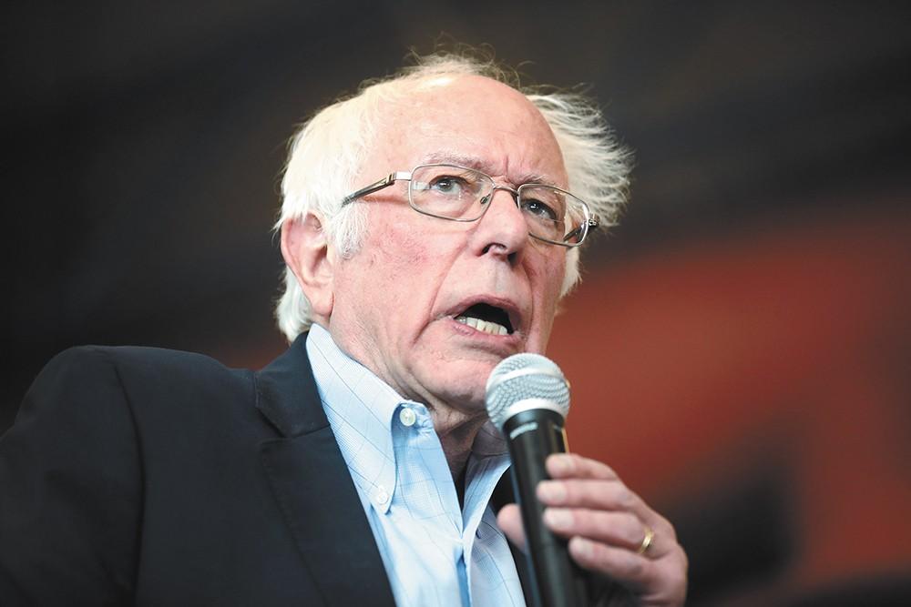 Polls suggest Bernie Sanders may be favored among Washington Democrats.