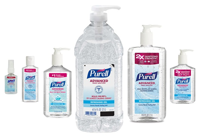 On eBay, 6 fluid ounces of Purell's alcohol-free sanitizer — the equivalent of three-quarters of a cup — had a $55 price tag on Thursday night.