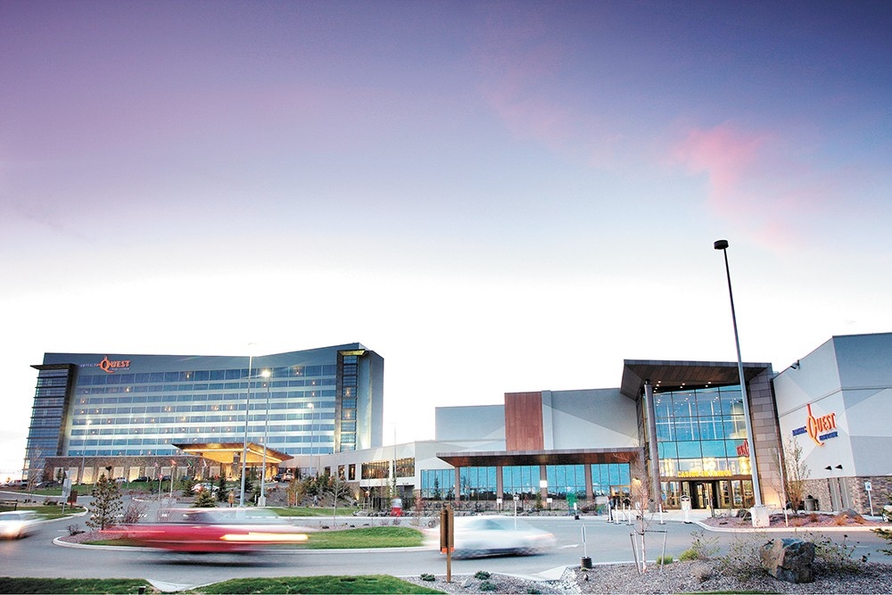 Northern Quest Resort & Casino was readers' top choice for visiting the West Plains. - YOUNG KWAK PHOTO