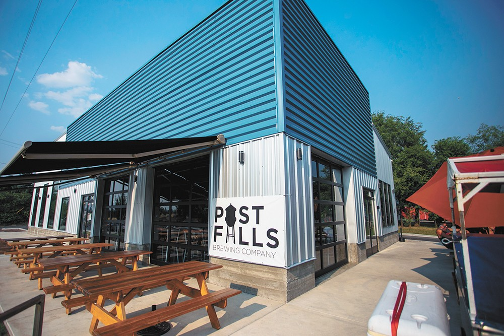 All the reason you need: Post Falls Brewing. - DAN COUILLARD PHOTO