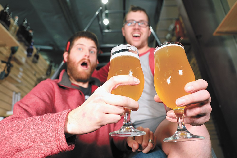 The guys behind a popular beer-focused YouTube channel.