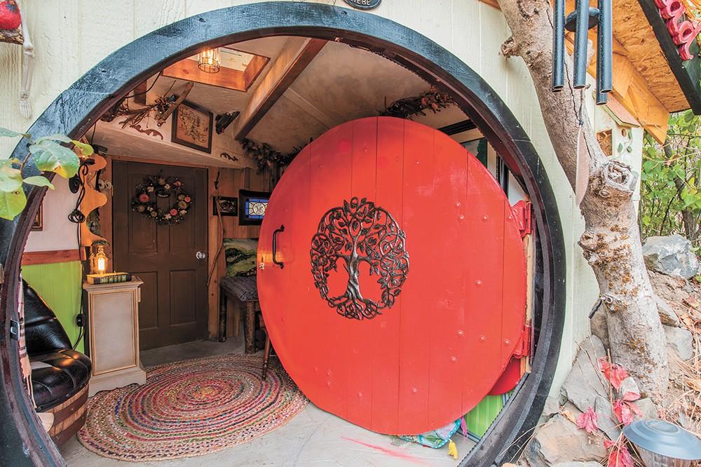 Spokane Hobbit House hosts online story times. - ERICK DOXEY