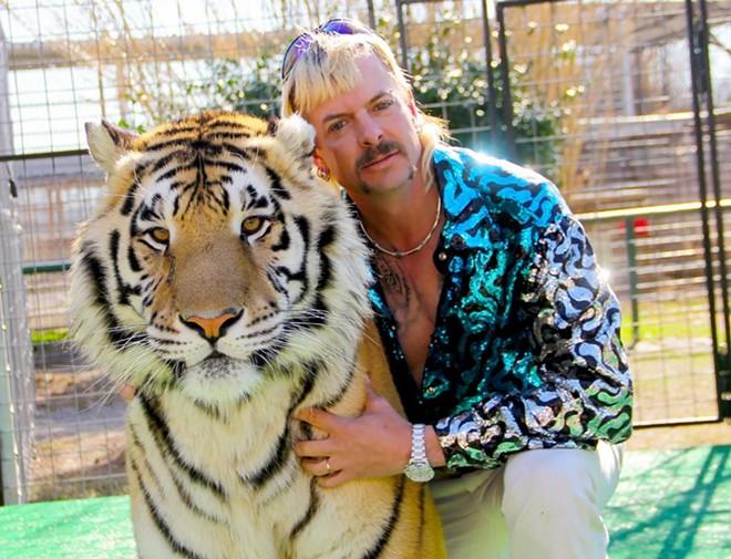 Joe Exotic, a tiger breeder whose real name is Joseph Maldonado-Passage