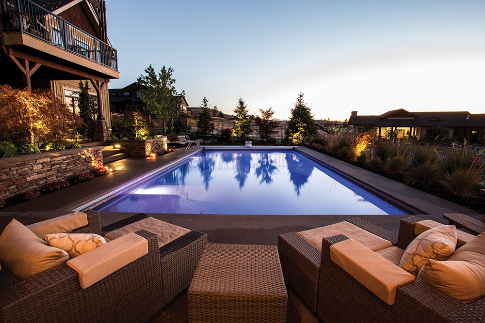 """""""Pools and hot tubs are super popular; we're involved with a lot of pool projects every year,"""" says Matt Barton founder of Coppercreek Landscaping - MATT BARTON/COPPERCREEK LANDSCAPING"""
