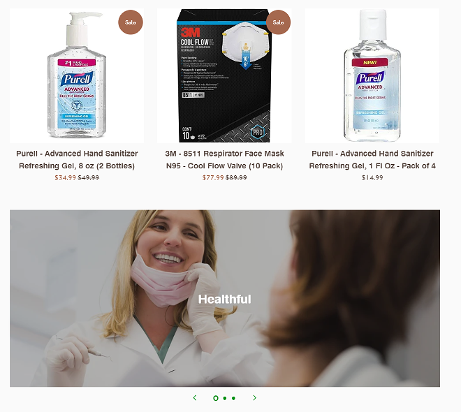 """Damn, look how healthful this """"Washington Cleaning Supply"""" lady is."""