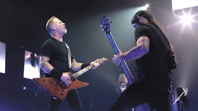Metallica streamed their 2017 concert in Paris live on YouTube and Facebook.