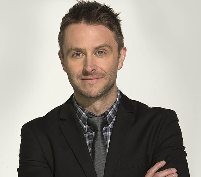 Chris Hardwick, comic and host of The Talking Dead (among other things) will visit Spokane in November.