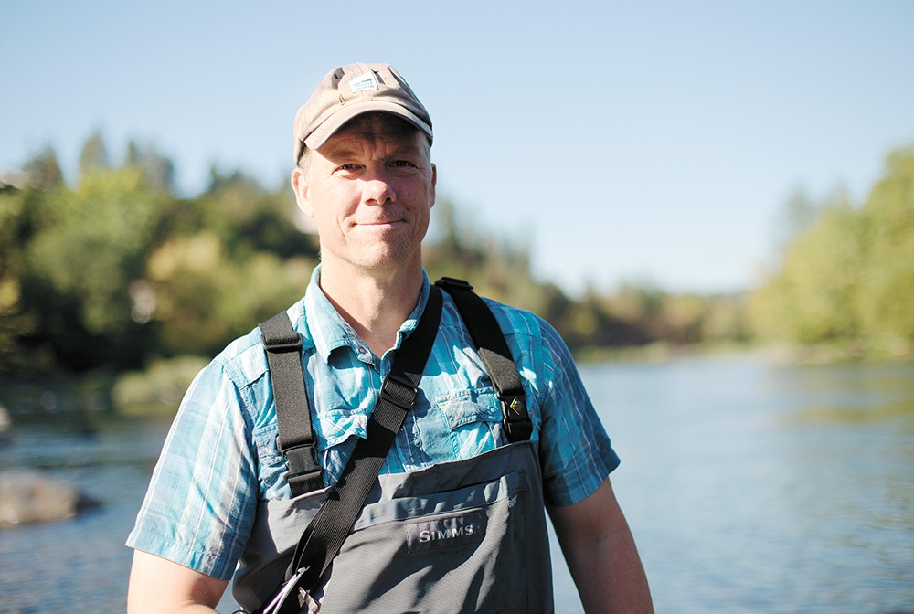 Spokane Riverkeeper Jerry White - YOUNG KWAK PHOTO
