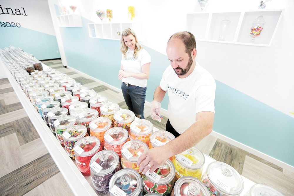 Rachel and Taylor Gano are navigating the pandemic as new business owners. - YOUNG KWAK PHOTO