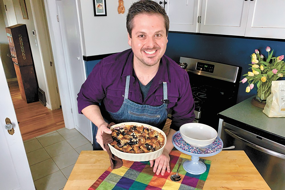 Spokane chef Ricky Webster is a natural at the online-cooking game.