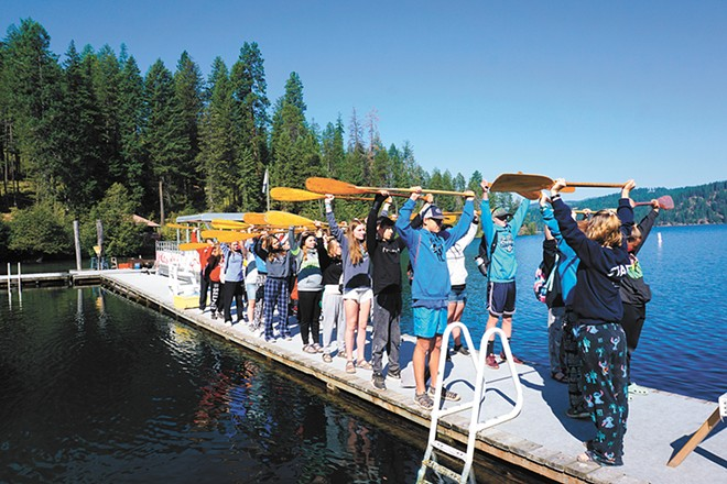 Camp Sweyolakan is Camp Fire's traditional summer camp on Lake Coeur d'Alene.