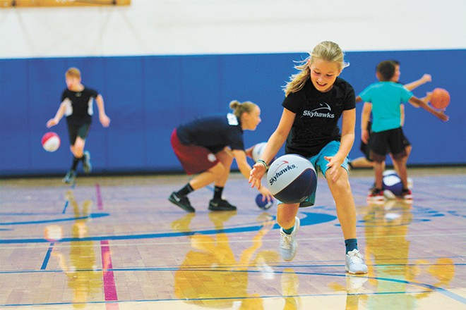 Skyhawks hosts kids' sports programs year-round, so even if summer camp can't meet in person this year, there are other opportunities.