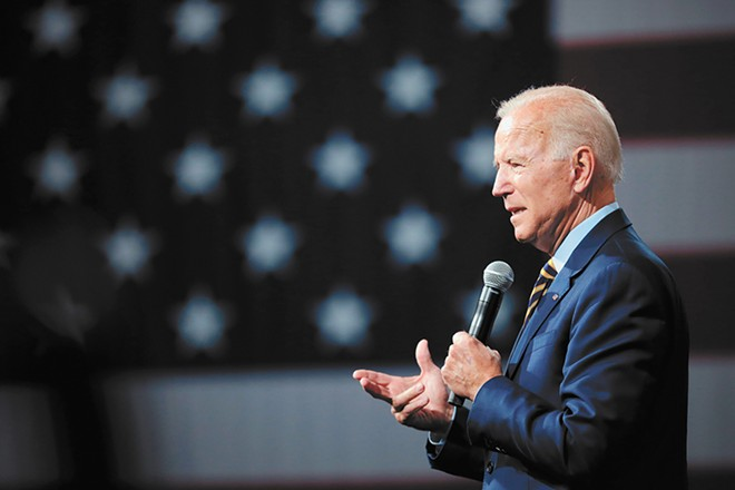 Joe Biden leads the polls with about 30 percent support. - GAGE SKIDMORE PHOTO