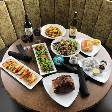 Twigs is taking preorders for this Mother's Day feast through Friday. - TWIGS BISTRO & MARTINI BAR