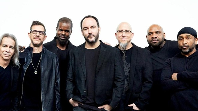 The Dave Matthews Band's Labor Day pilgrimage to the Gorge isn't happening this year. - DANNY CLINCH