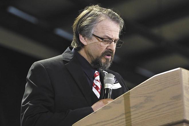 Idaho Rep. Tim Remington initially defied Idaho Gov. Brad Little, arguing that believers shouldn't be afraid of the coronavirus. - YOUNG KWAK PHOTO