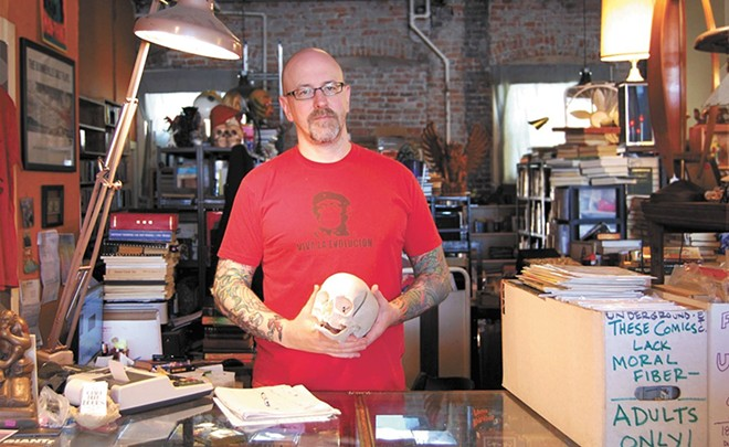 Giant Nerd Books' Nathan Huston - BRYCE COLVIN PHOTO