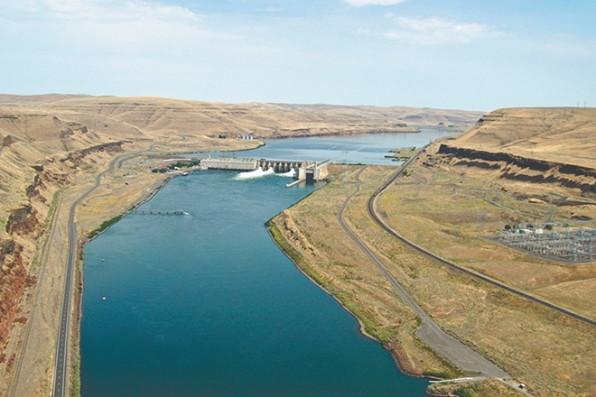 Eight dams along the Snake and Columbia rivers could face penalties for violating the Clean Water Act for the first time, after they had to apply for discharge permits that allow state guidance to be binding. - COLUMBIA BASIN FEDERAL CAUCUS PHOTO
