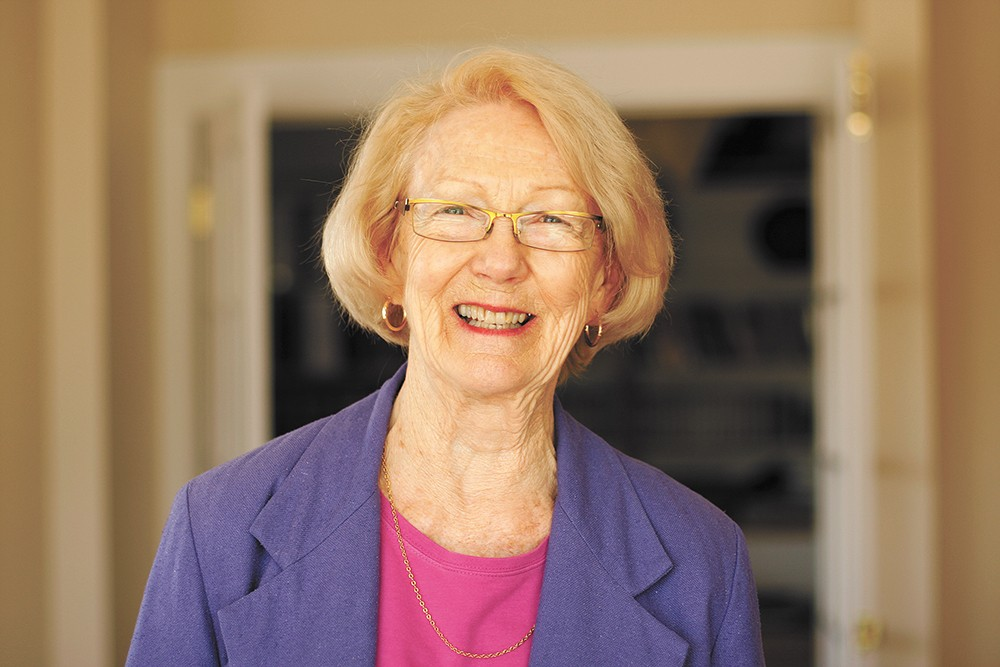 Mary Lou Reed's served Idaho in elected office and in the Inlander. - YOUNG KWAK PHOTO