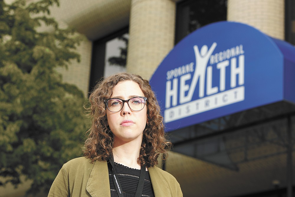 Anna Halloran, an epidemiologist with the Spokane Regional Health District. - YOUNG KWAK PHOTO