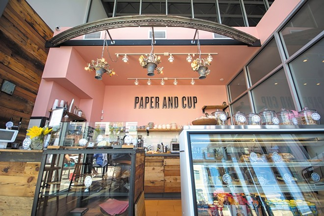 Paper & Cup in Kendall Yards will be missed by many. - STUART DANFORD