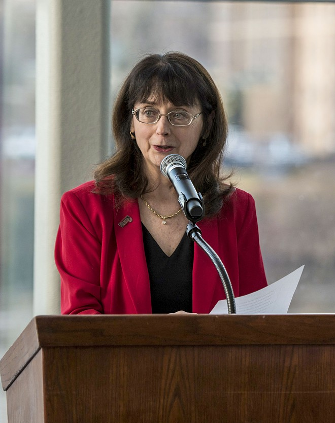 EWU President Mary Cullinan lacks the confidence of EWU faculty. - EWU PHOTO