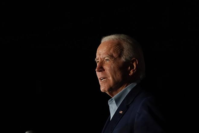Former Vice President Joe Biden in Dallas, March 2, 2020. - TODD HEISLER/THE NEW YORK TIMES