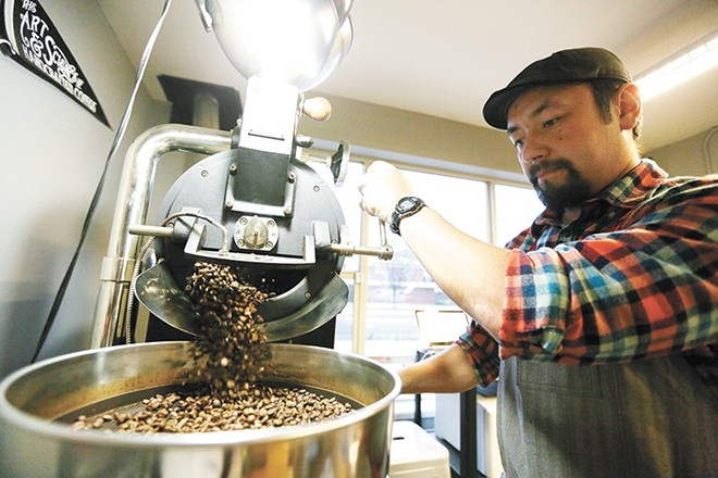 Indaba Coffee Roasters owner Bobby Enslow opted to temporarily close all Indaba locations in early July after learning an employee had been in contact with a positive COVID-19 case. - YOUNG KWAK PHOTO