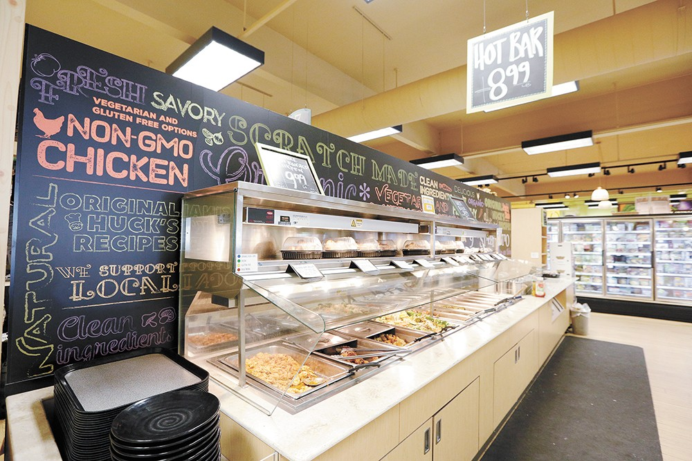 Huckleberry's offers tasty grab-and-go options. - YOUNG KWAK PHOTO