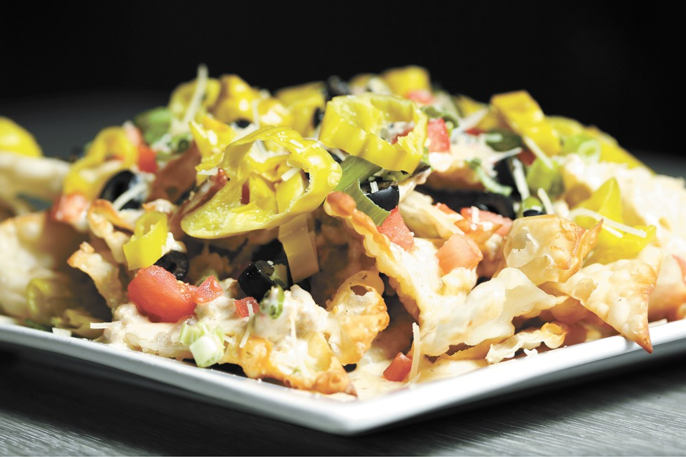Rock City Grill's Italian nachos give a delicious twist to a classic appetizer. - YOUNG KWAK PHOTO