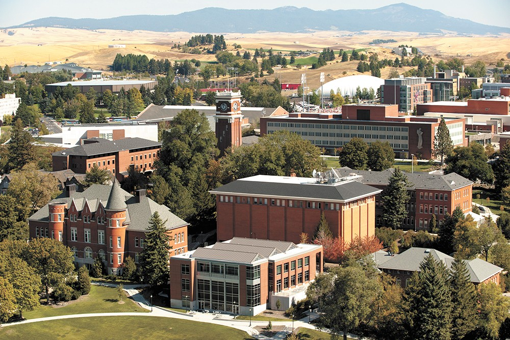 Brick-and-mortar classrooms are expensive to build and maintain. - WSU PHOTO