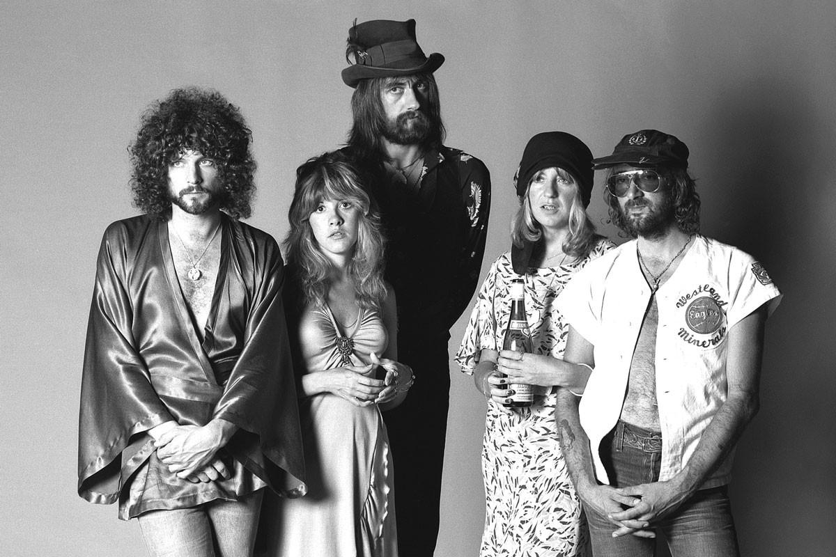 Fleetwood Mac: Always ready for their closeup.