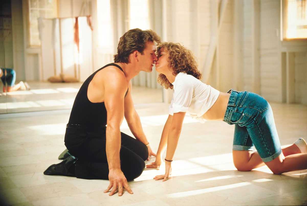 Patrick Swayze and Jennifer Grey had chemistry on screen, despite rumors of not getting along between takes.