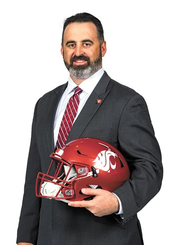 New WSU football coach Nick Rolovich is having the weirdest first year ever. - WSU ATHLETICS PHOTO