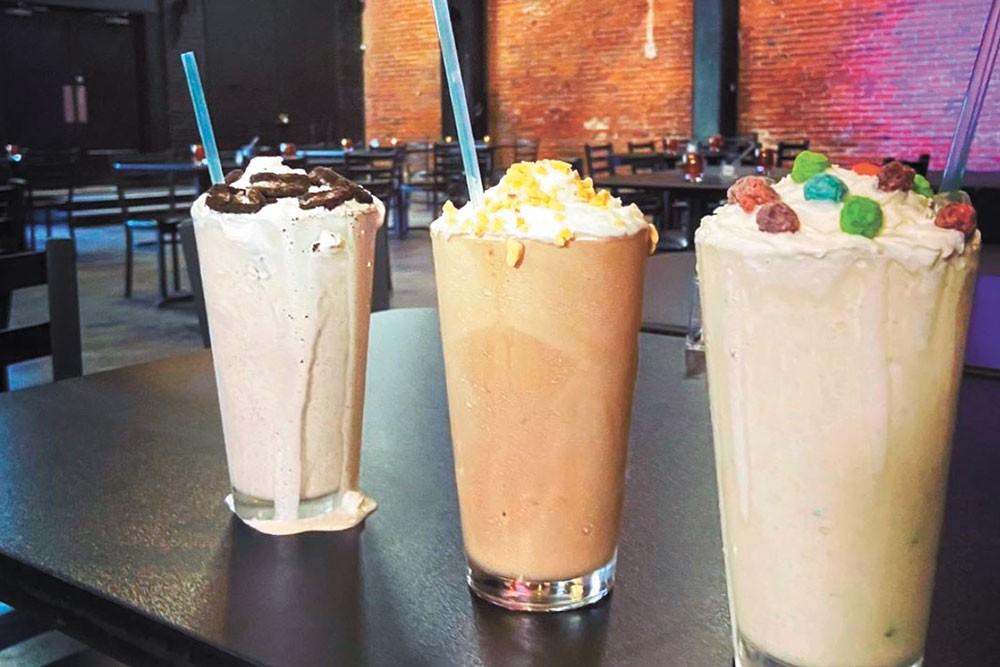 The Spokane Comedy Club-turned-Spokane Shake Company boasts 39 milkshake flavors.