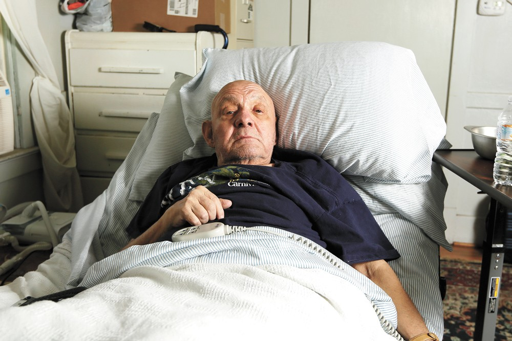 Jay Wendell Walker fell and broke his femur a few months ago, sending him to the operating table and then a nursing home. That's where he contracted COVID-19. - YOUNG KWAK PHOTO