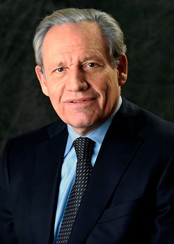 Journalist Bob Woodward's new book on Trump is called Rage.