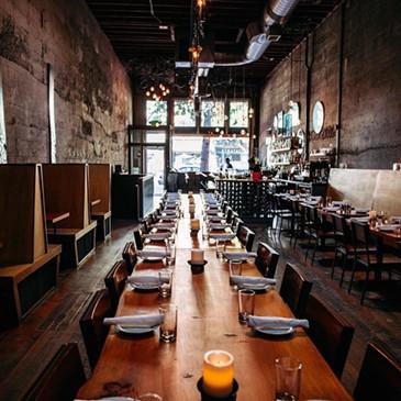 La salle à manger de Tavolàta Belltown. - FACEBOOK DE TAVOLÀTA