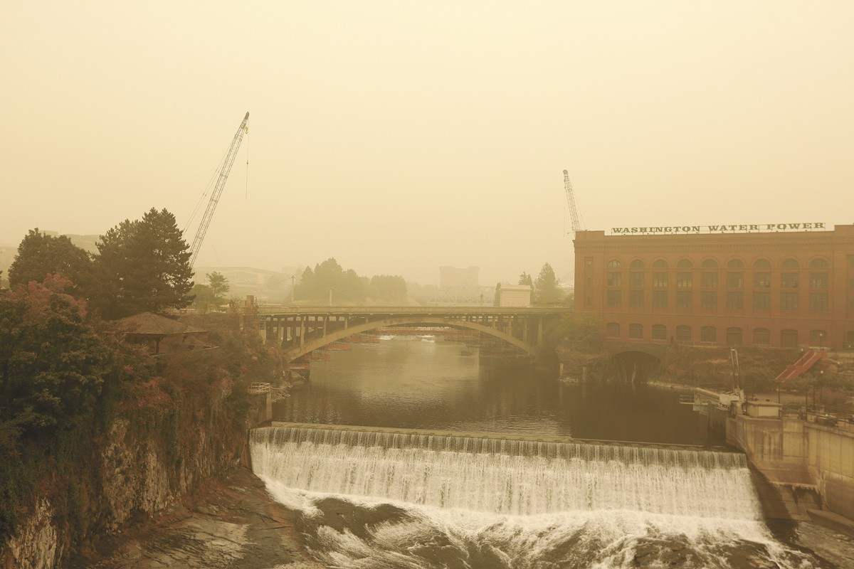Fires across the West should force us to reckon with climate change. - YOUNG KWAK PHOTO