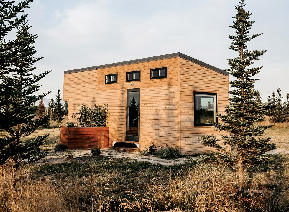 """We designed and built the tiny house ourselves over the course of one year,"" Vanessa Swenson says. ""The trailer was custom and specific for tiny houses from a company called Iron Eagle Trailers in Portland."" - CLARIN JOY PHOTOGRAPHY"
